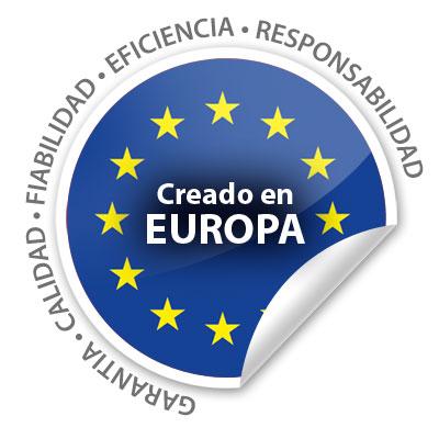 Creado en Europa