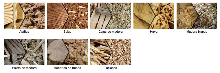 materiales triturables
