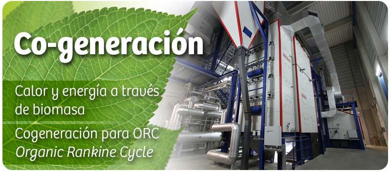 Cogeneración y ORC. Calderas y Hornos para generación de calor y energía.