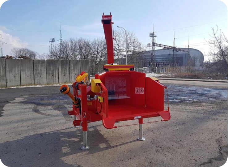 Astilladora de madera con toma de fuerza a tractor 160-R