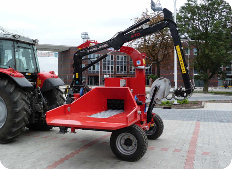 Astilladora de madera con toma de fuerza a tractor 250-RG90