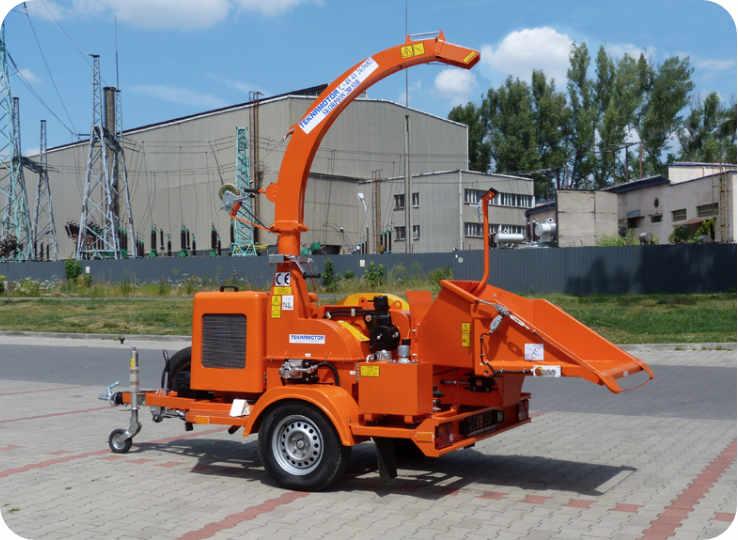 Astilladora de tambor móvil 280-SDB