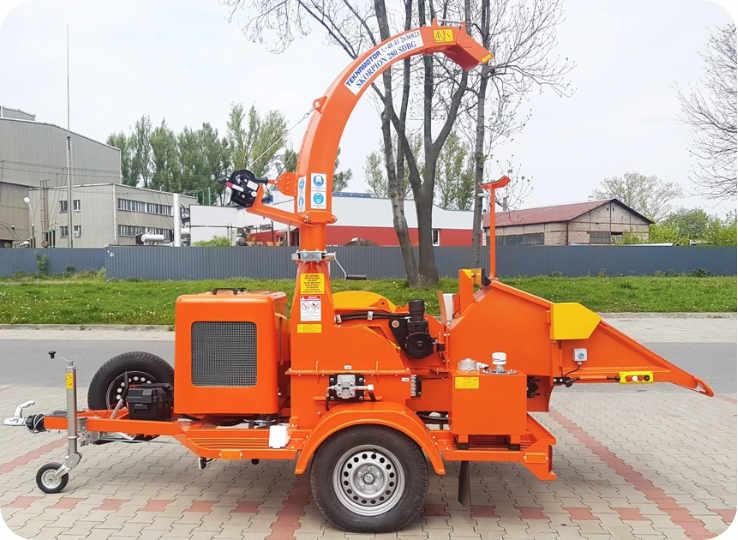 Astilladora de tambor móvil 280-SDBG