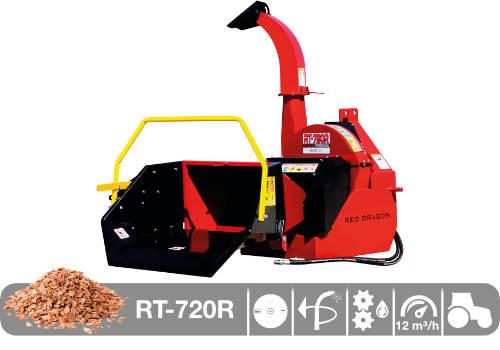 Astilladora de leña mediante disco RT-720R